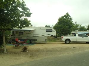 Camping at Santee Lakes, San Diego CA